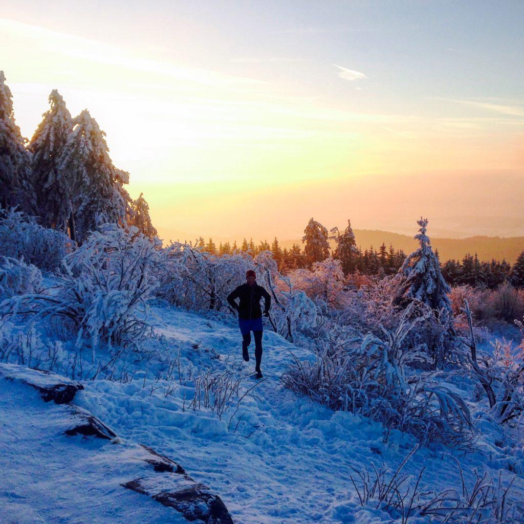 Trailrunning im Schnee